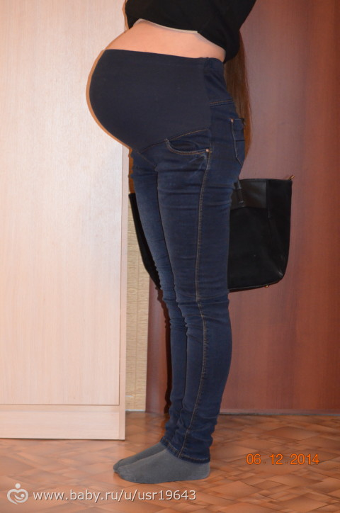 Как перешить джинсы в джинсы для беременных своими руками 64