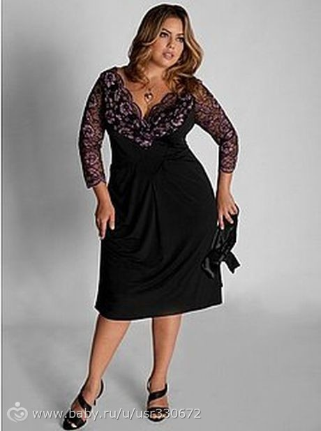 Платья для толстых женщин для торжества