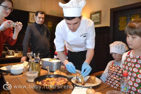 Кулинарный мастер класс в ресторане