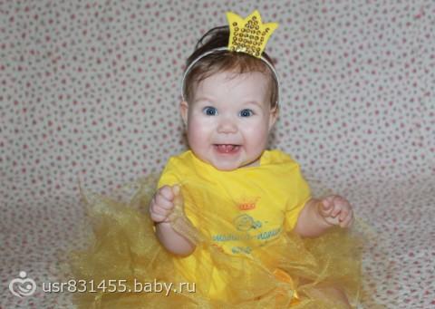 Как сделать корону на годик девочке