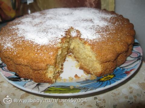 Как сделать бисквитный пирог на сметане - Jiminy.ru
