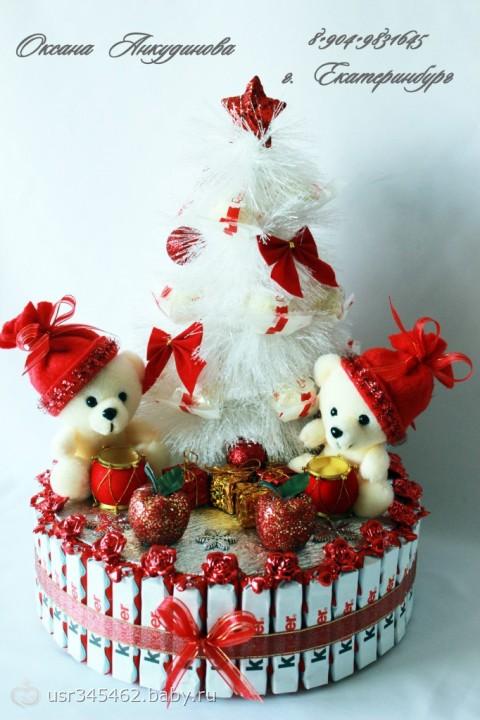 Как сделать торт на новый год своими руками