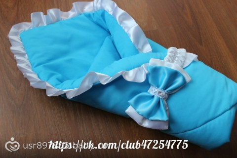 белый конверт синяя лента чай вдвоем