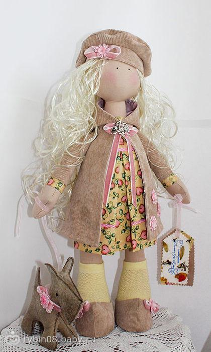 Шьём куклы большеножки