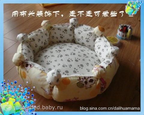 Для кошки лежаки своими руками
