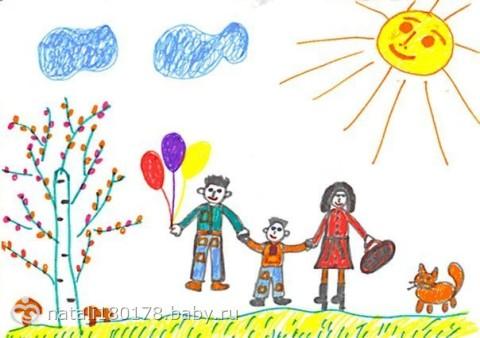 методика рисунок семьи рисунки