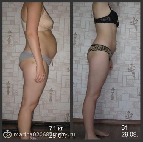 похудеть за 10 на 10 кг: