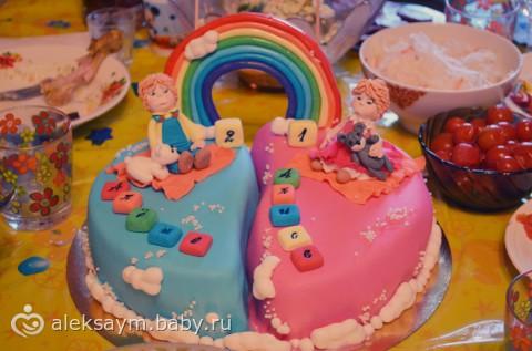 Торт на праздник с фото иами