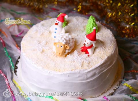 Рецепт торта с фигурками пошагово с