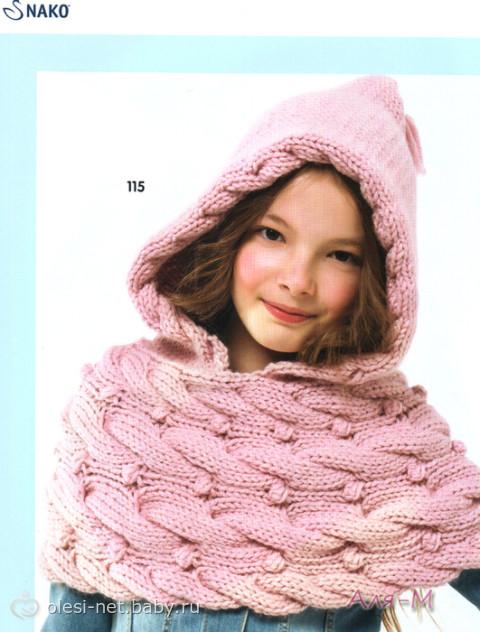 Меховой жилет для девочки можно связать спицами за несколько часов. . Вязать такую шапку легко и быстро, для вязания