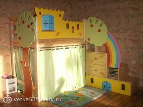 Как сделать кроватку самому для ребенка