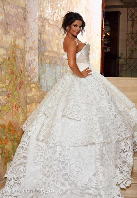 свадебные платья схема.