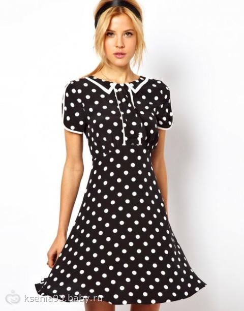 Купить платье в горошек от 1 гривны б/у и новые, доставка по всей территории Дизайнерское платьев макси в горошек Все
