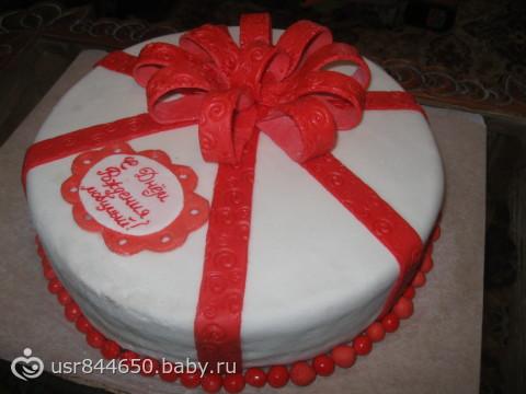 Торт любимому на день рождение своими руками