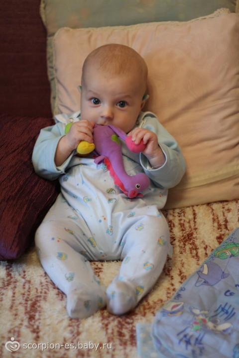 Как начинать сажать ребенка в 6 месяцев 57