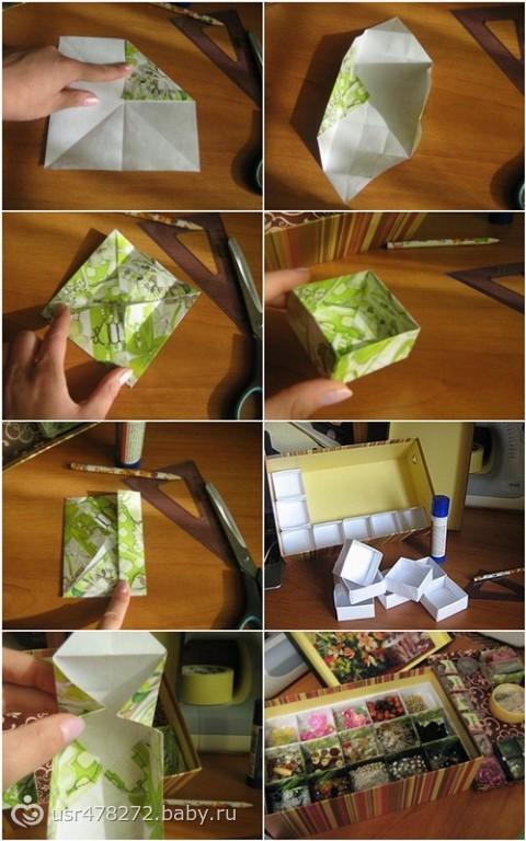 Как сделать и украсить коробку своими руками