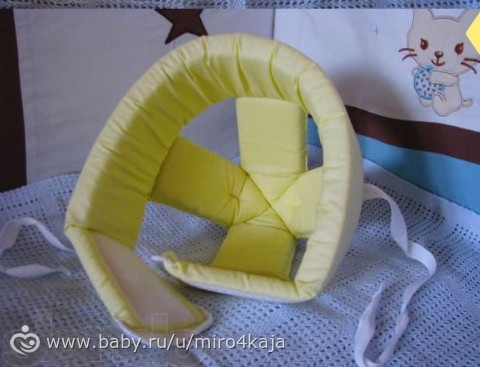Шлем противоударный для малышей