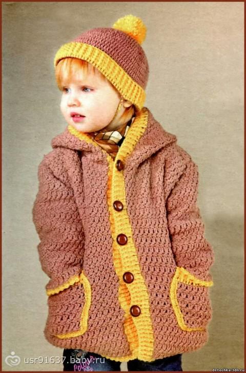 Вязание для детей спицами и крючком. . Узоры схемы и модели вязания с опис