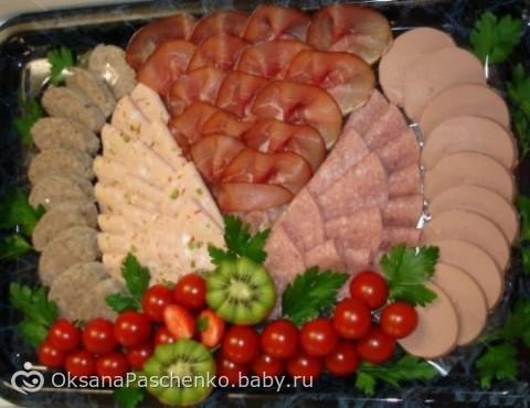 Фото салатов и праздничных блюд