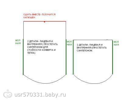 Выкройки конвертов для выписки новорожденного