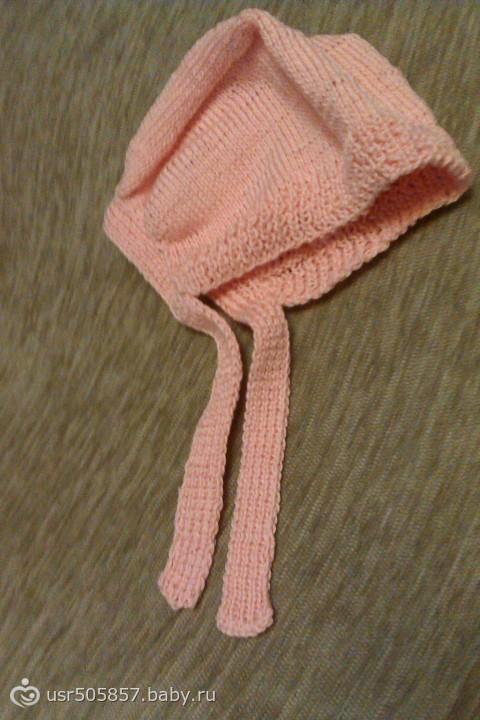 простое вязания чепчика спицами все о вязании