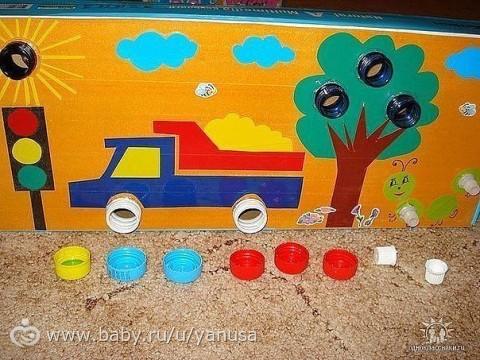 Развивающие игрушки своими руками от 1 до