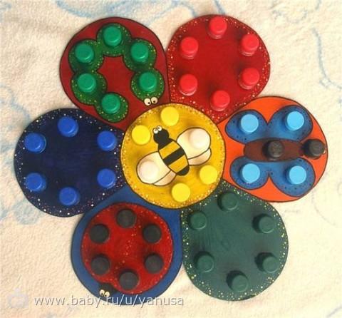 Игрушки для развития сенсорики своими руками