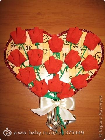 Сделать букет из роз из бумаги своими руками для мамы