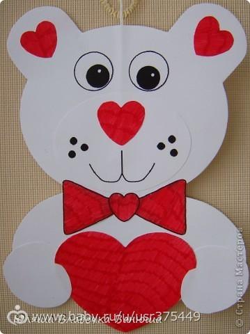 Шаблон валентинки своими руками для детей