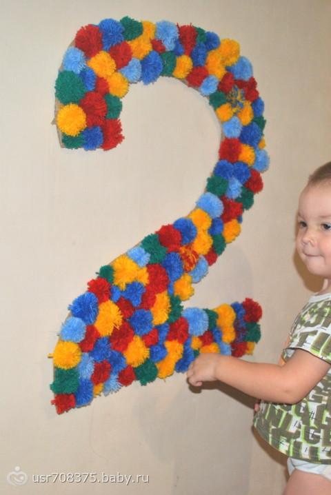 как оформить шарики на день рождения фото