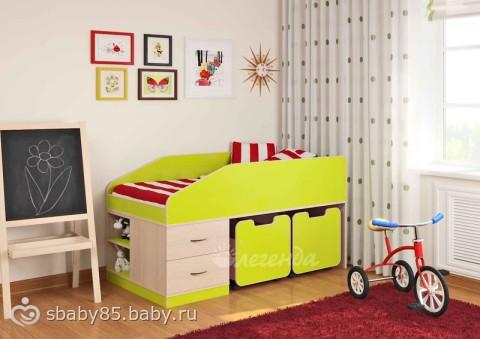 Какую кровать выбрать ребенку 4 лет