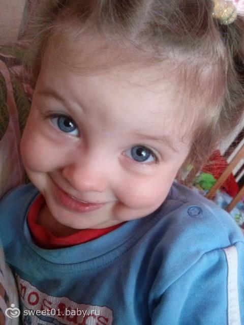 моей девочке 2,4 года, вот моя красуня...