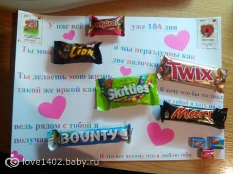 14февраля идей подарков сладкие