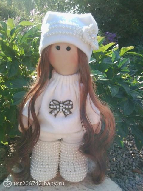 Шапочка для кукол своими руками