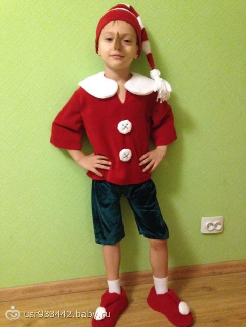 Костюм чертенка на новый год для мальчика
