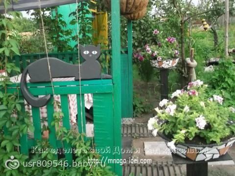 Прикольные поделки для огорода и дачи фотокаталог