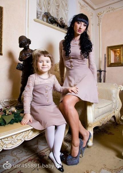 частное фото мам и дочек