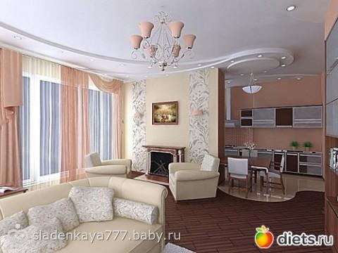 Дизайн жилой комнаты - оно.