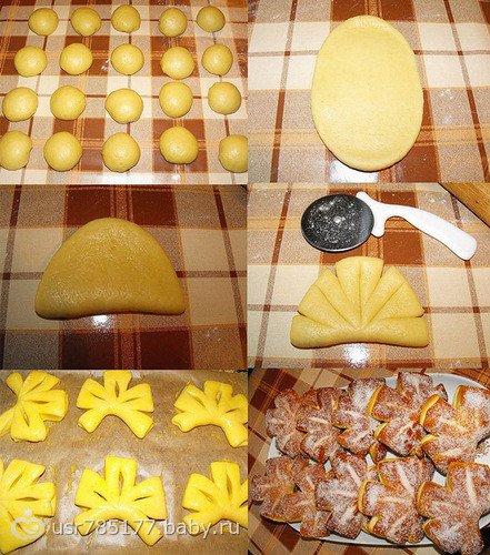 Красивая выпечка теста рецепты фото