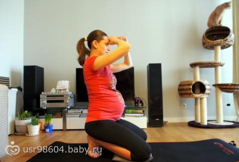 Упражнения для беременных и для подготовки к родам (много букв и фото)