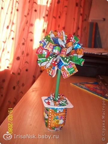 Поделки цветы из подручных средств 426