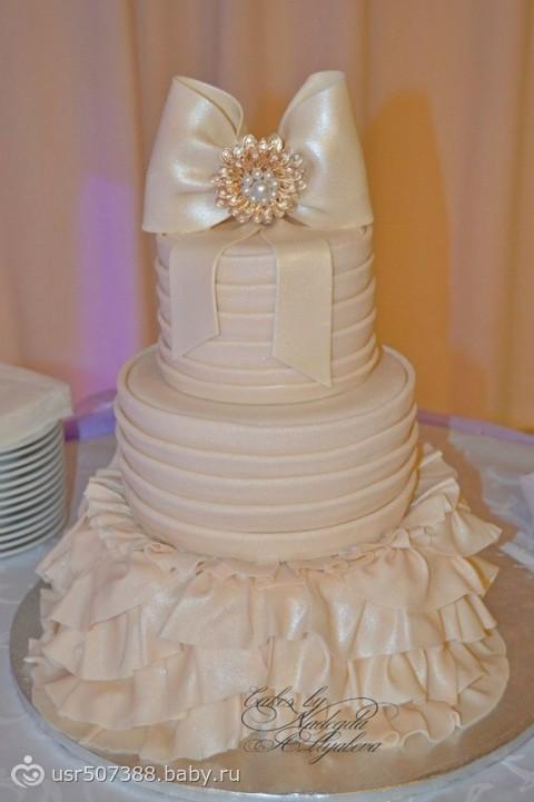 самые новые свадебные торты фото