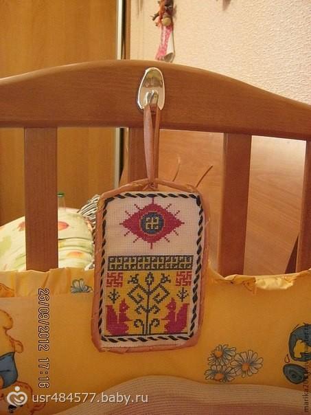 Вышивка оберег для младенцев