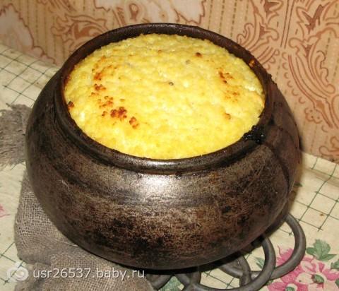 ямксонь кусля(пшенный кисель рецепт мордовской кухни-хв7