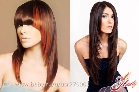 покраска и стрижка волос