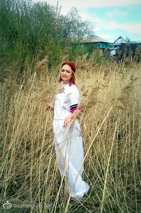фото деревенской девочки