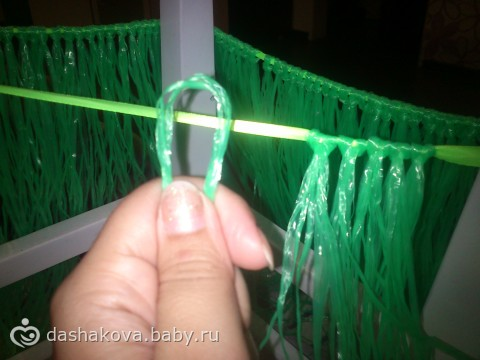 Как делать гавайские юбки