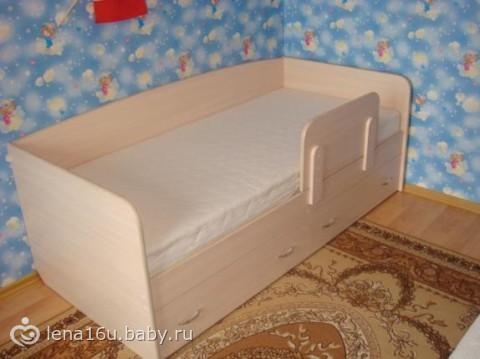 Кровать для ребёнка от 3 лет своими руками 395