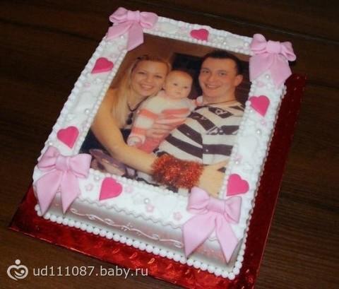 как делают фото для торта