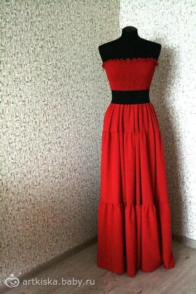 Переделываем пышное платье